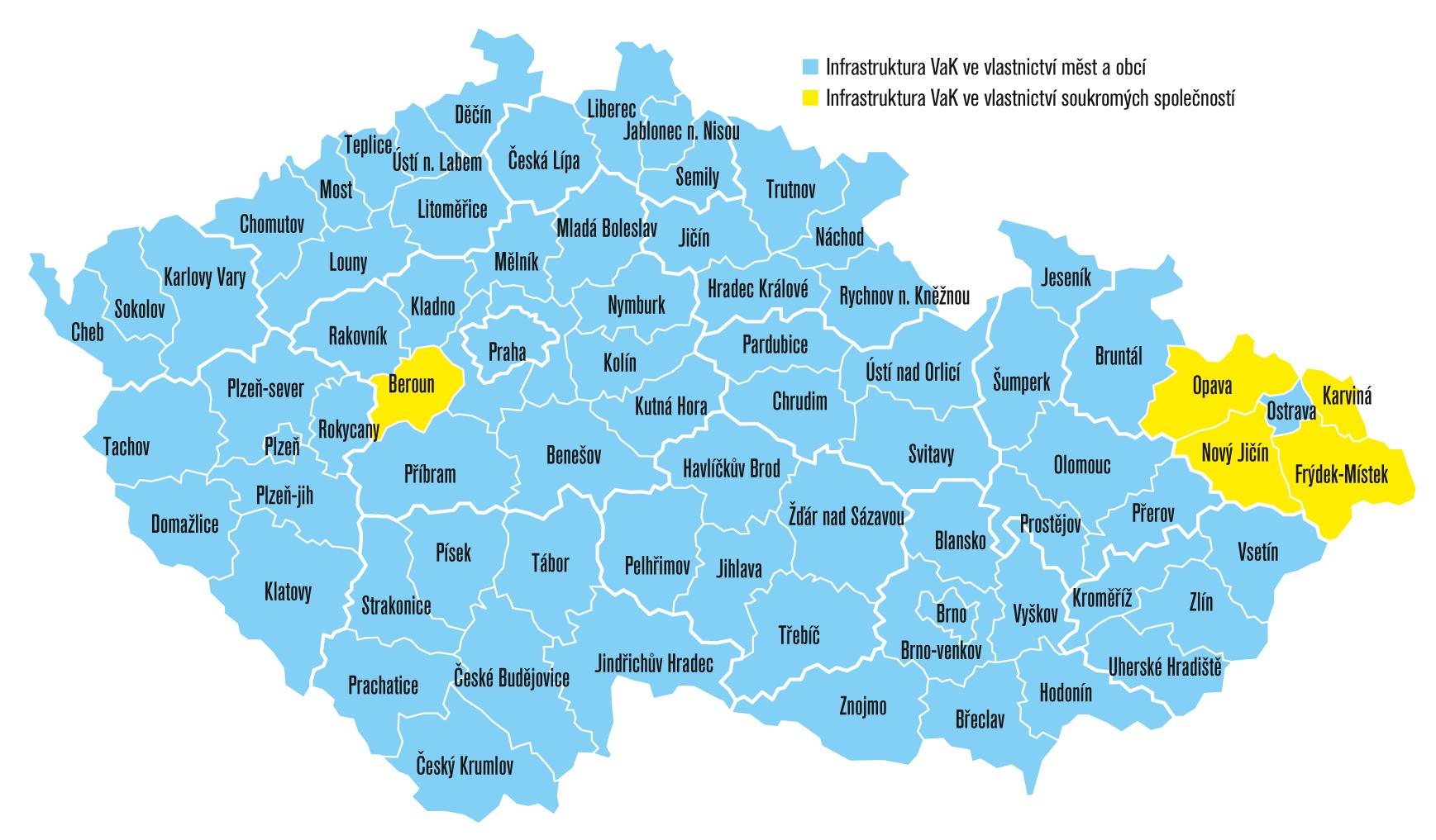 Kdo vlastní českou vodu?